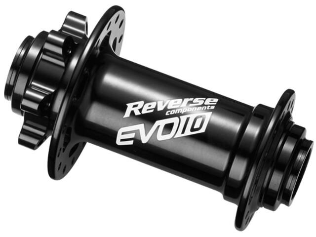 Reverse EVO-10 Boost Disc Front Hub 110/15mm, negro